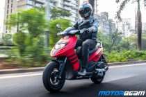 Aprilia Storm 125 Test Ride Review