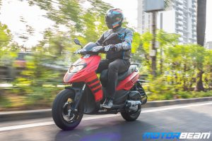 Aprilia Storm 125 Video Review
