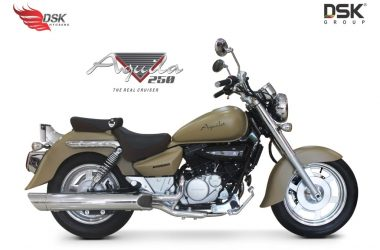 2017 Hyosung Aquila 250 Limited Edition Launched