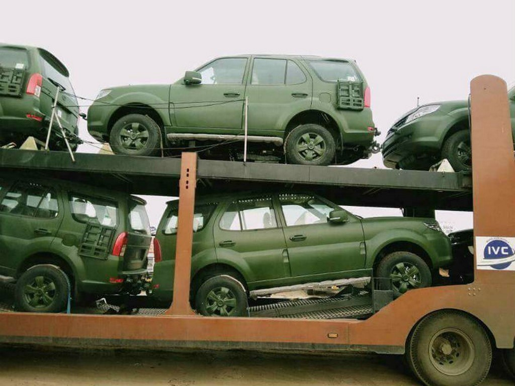 Army Spec Tata Safari Storme
