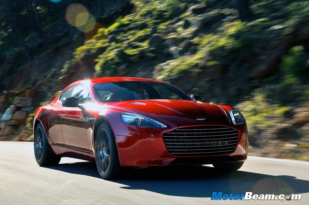 Aston Martin Rapide S First Drive