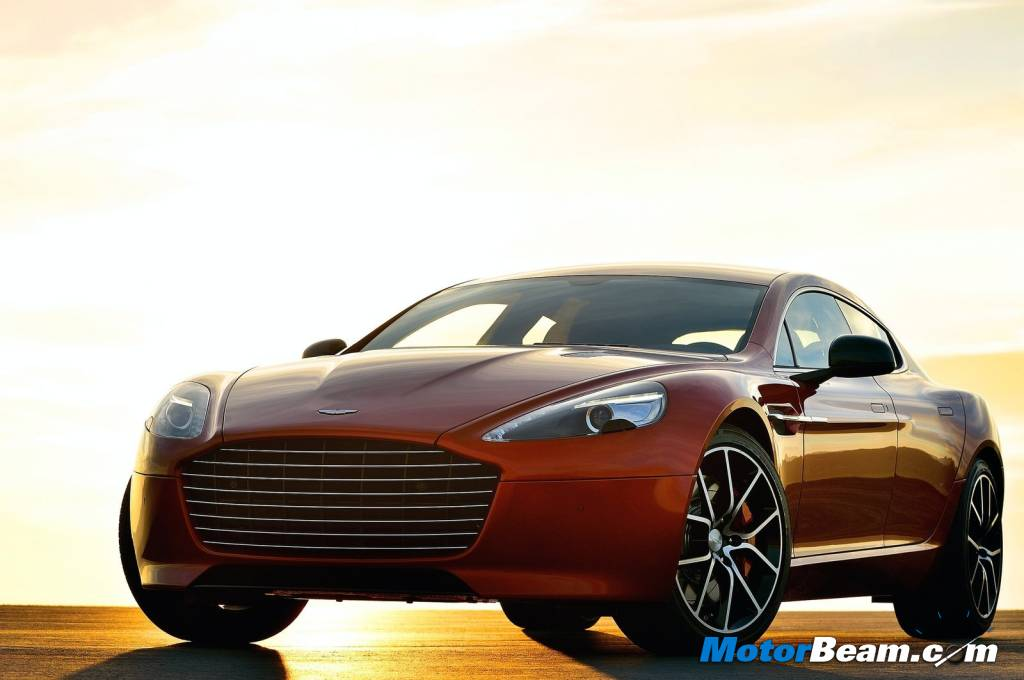 Aston Martin Rapide S Test Drive Review