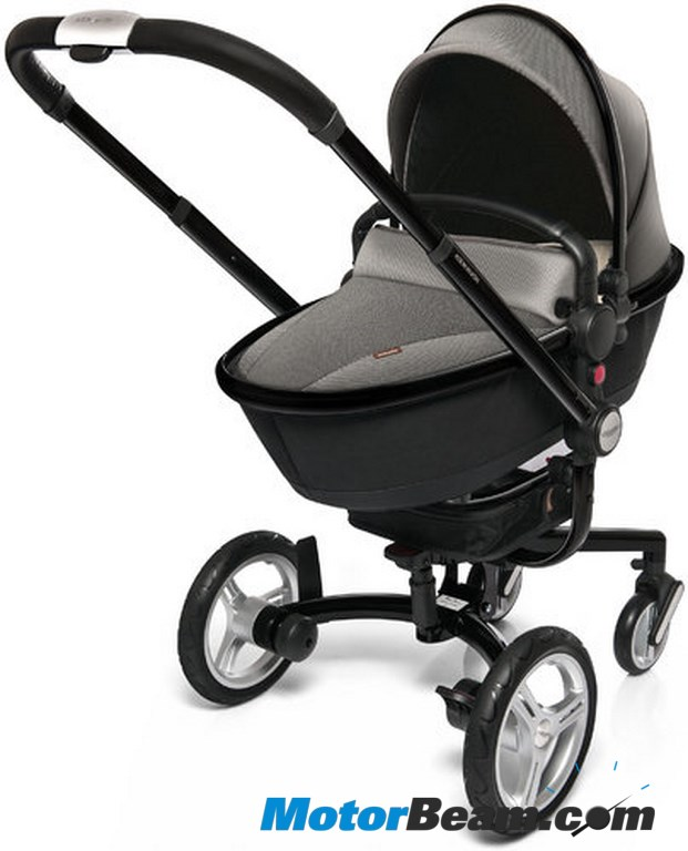 BMW Aston Branded Baby Strollers A Hit With Kids - Aston martin stroller