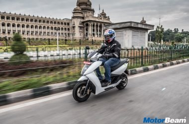 Ather 450 Report Test Ride