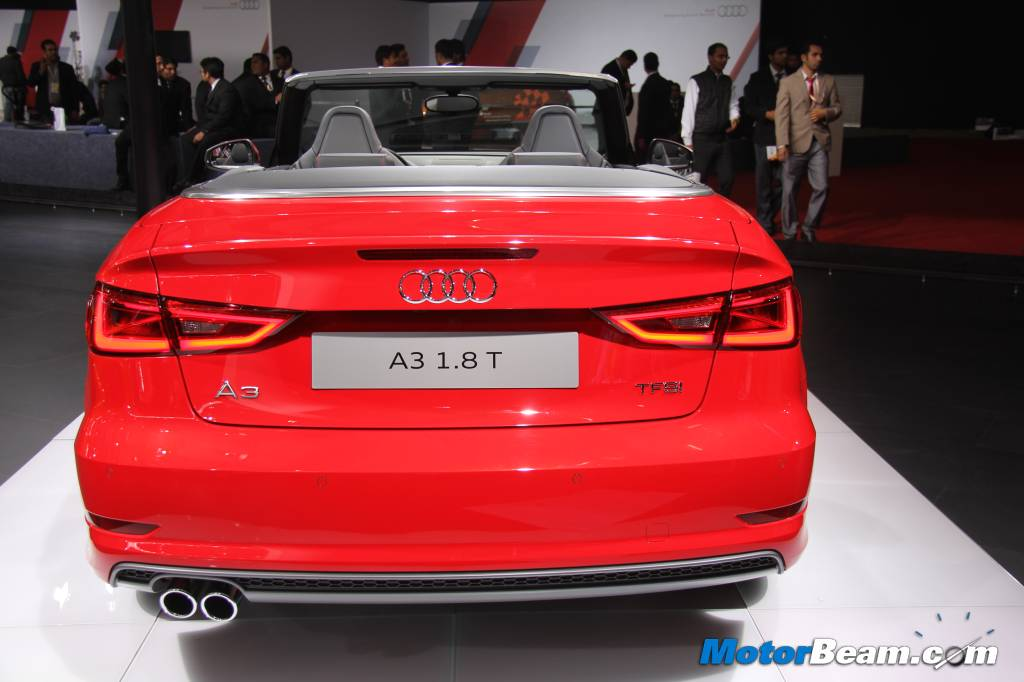 Audi A3 Cabriolet India Auto Expo