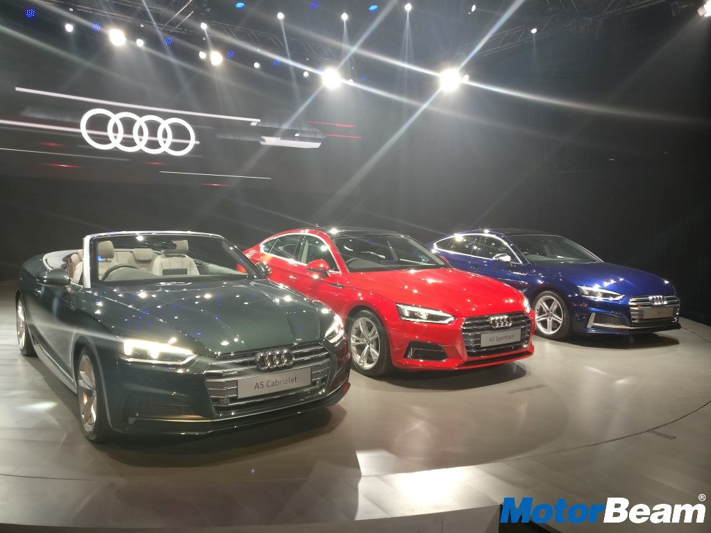 Audi A5 India Launch