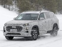 Audi Q9 Spotted