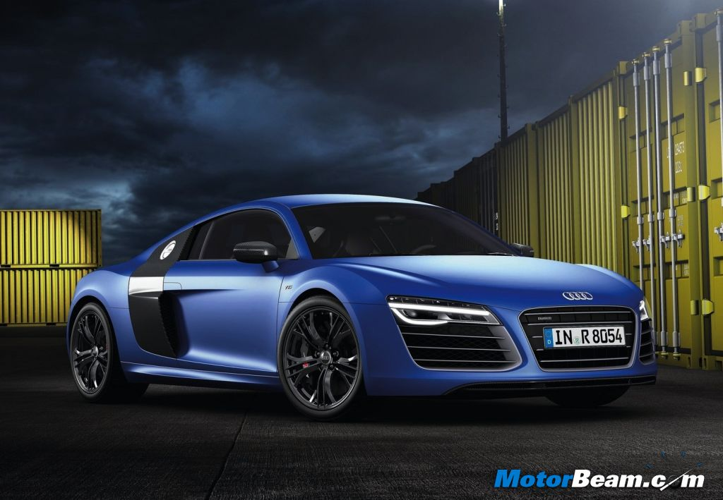 Audi India Launches R V Plus - Audi car r8 price in india