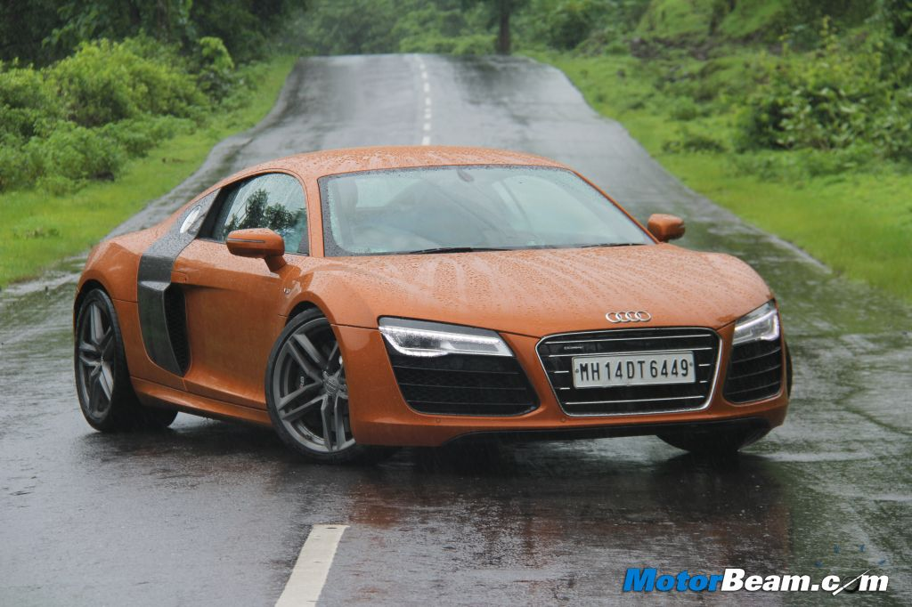 Audi R8 V10 Test Drive Review