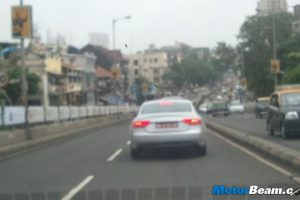 Audi A5 Spied