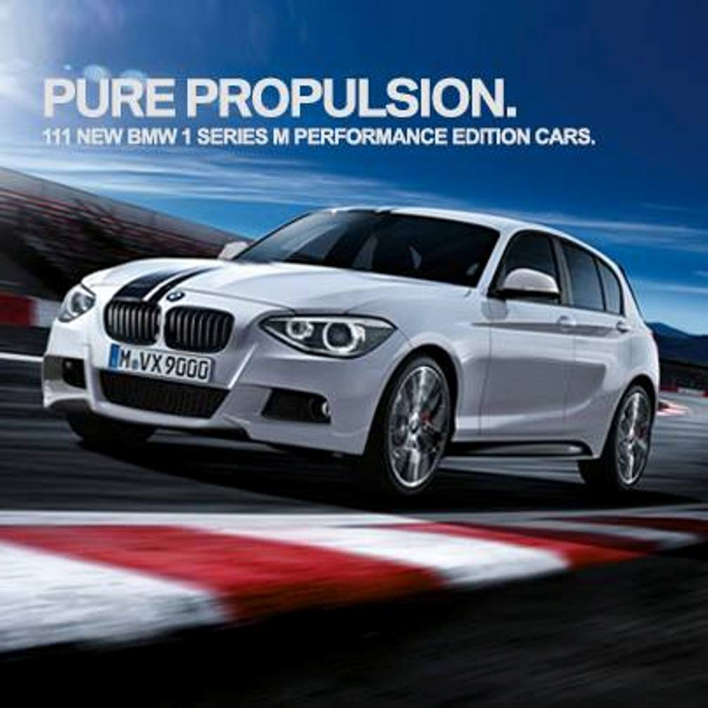 BMW 1-Series M Performance Edition Front