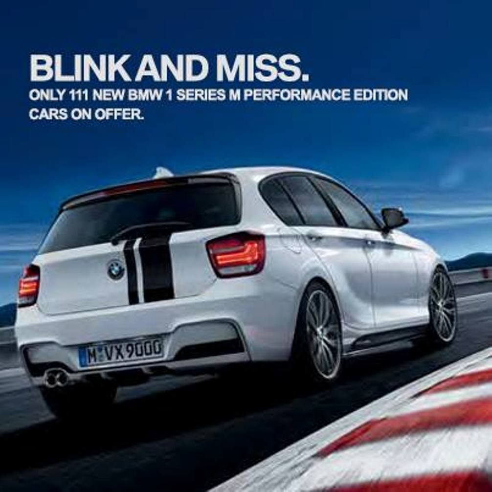 BMW 1-Series M Performance Edition Rear