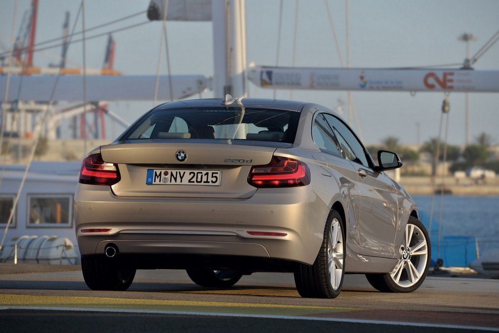 BMW 2-Series Coupe Rear