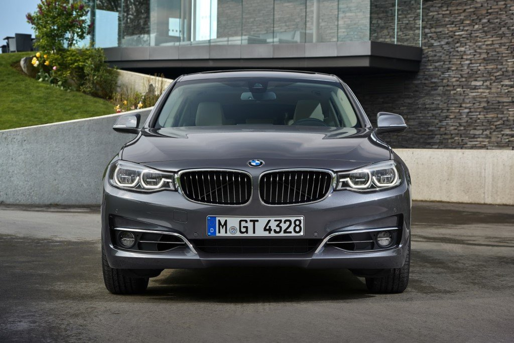 BMW 3-Series GT Facelift Front