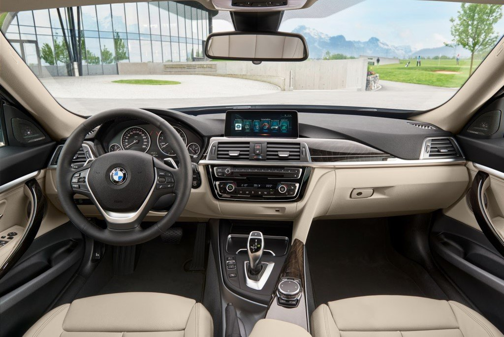 BMW 3 Series GT Facelift Nội thất