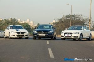 BMW 3-Series vs Mercedes C-Class vs Audi A4