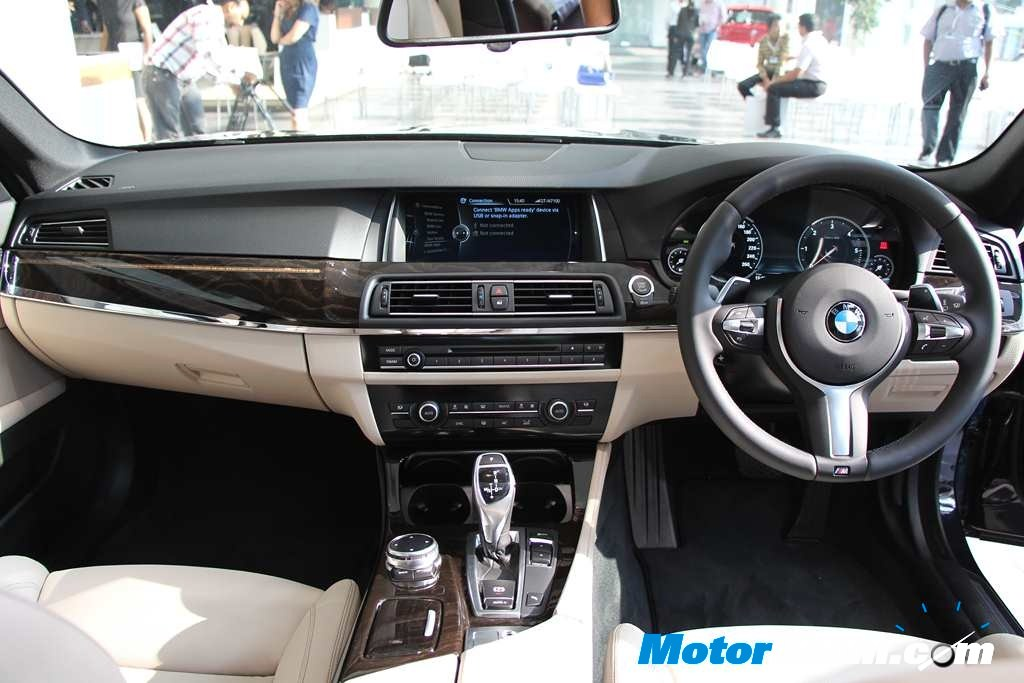 BMW 5 Series Facelift Dashboard