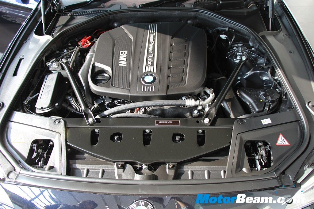 BMW 5 Series Facelift Engine