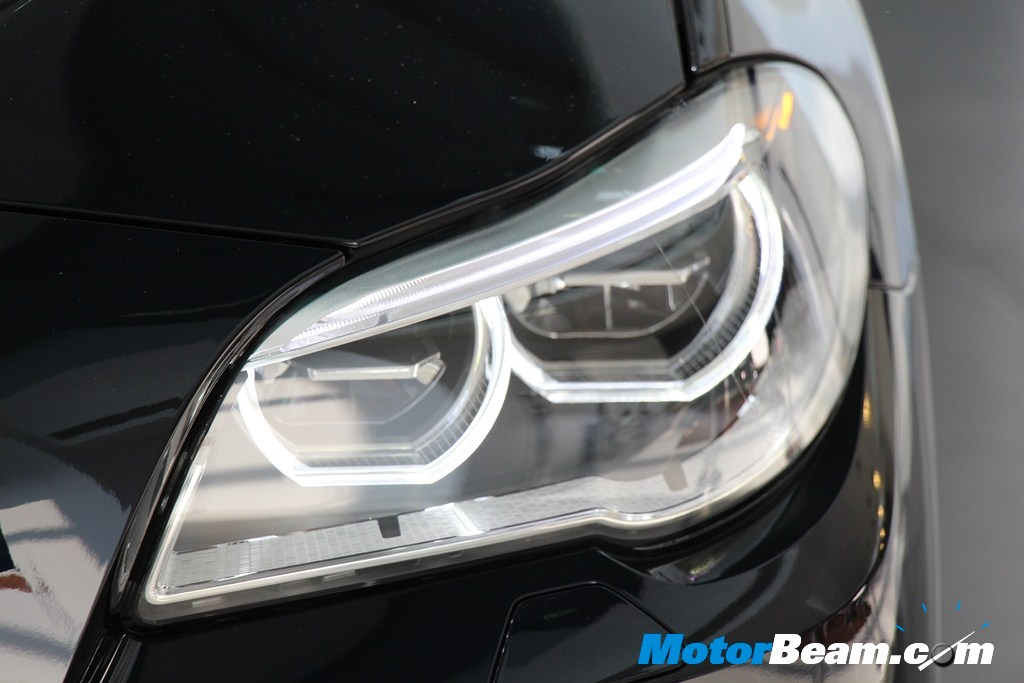BMW 5 Series Facelift Headlamps