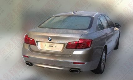 BMW 5 Series Facelift Rear