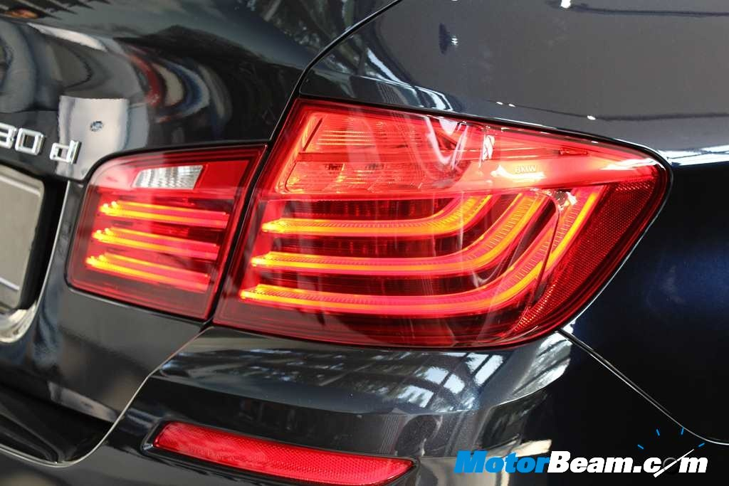 BMW 5 Series Facelift Tail Lamps