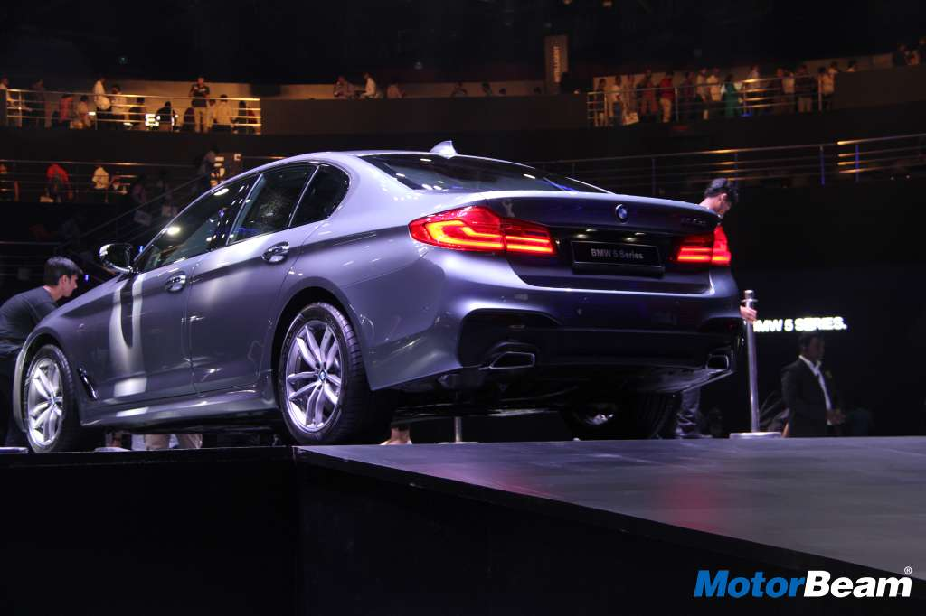 BMW 5-Series India Launch