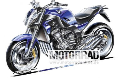 BMW Motorrad 6-Cylinder Motorcycle Producing 160 PS In The Offing
