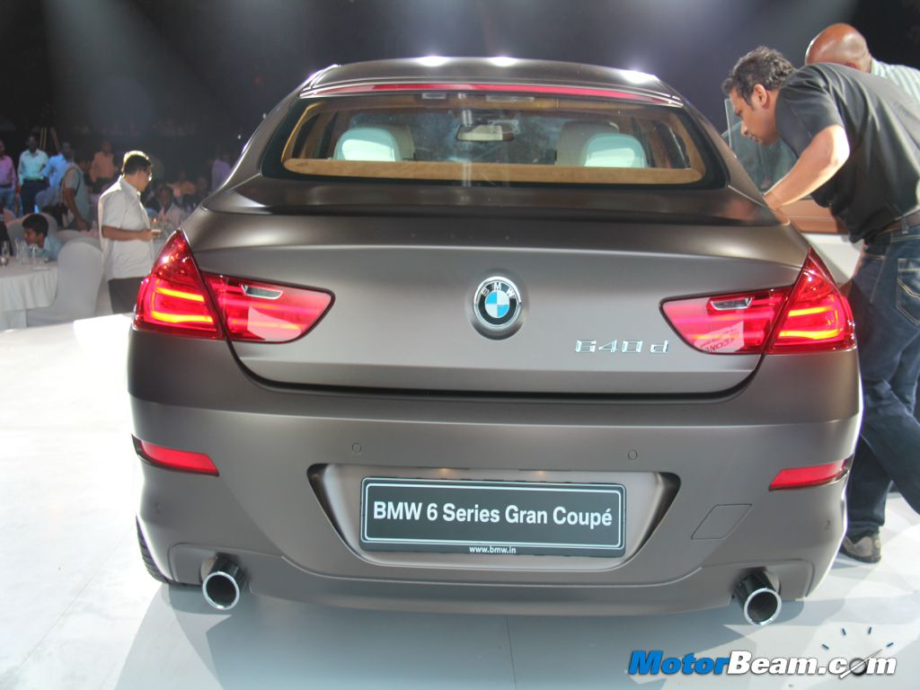BMW Convertible bmw m6 coupe price in india BMW 6-Series Gran Coupe Launched - Details and Price