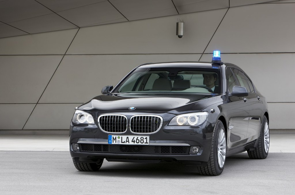 BMW 7 Series Security Edition Front