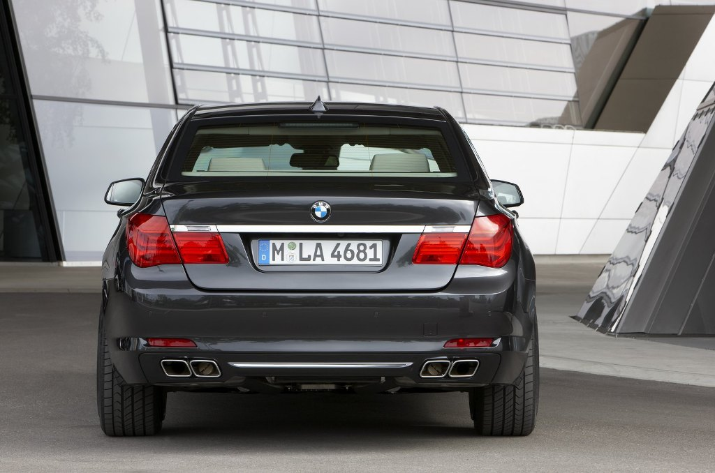 BMW 7 Series Security Edition Rear