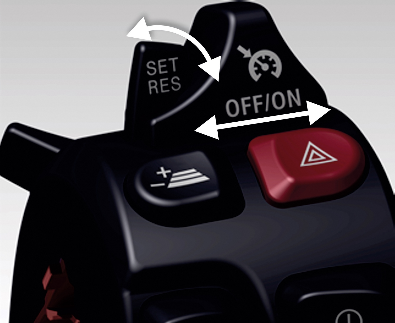 BMW Active Cruise Control Switches