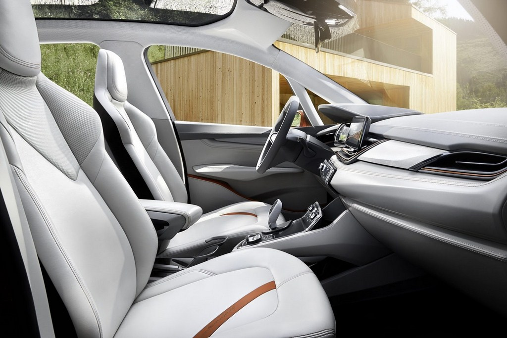 BMW Active Tourer Outdoor Concept Interiors