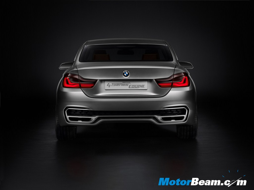 BMW Concept 4 Series Coupe Rear