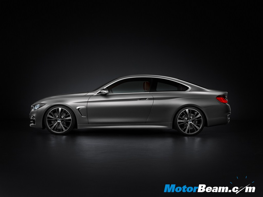 BMW Concept 4 Series Coupe Side