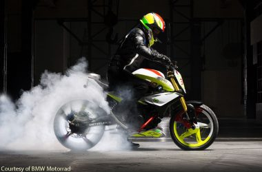 BMW TVS K03 Previewed As Concept Stunt G 310