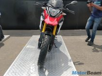 BMW G 310 GS Red