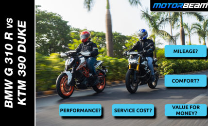 BMW G 310 R vs KTM 390 Duke Comparison Video