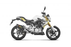 BMW G310R Akrapovic Carbon