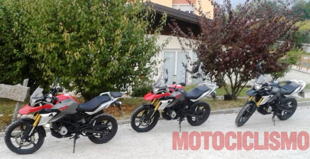BMW G310 GS Spied Naked