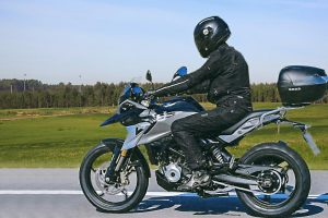 BMW G310 GS Spied Testing Accesories