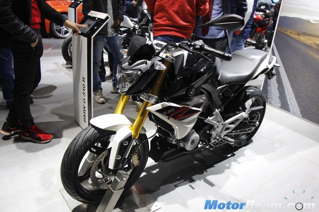 2016 BMW G310R Officially Makes India Debut At Auto Expo [Live] | MotorBeam - Indian Car Bike News Review Price