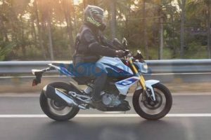 BMW G310R Spotted Testing Ahead Of Launch