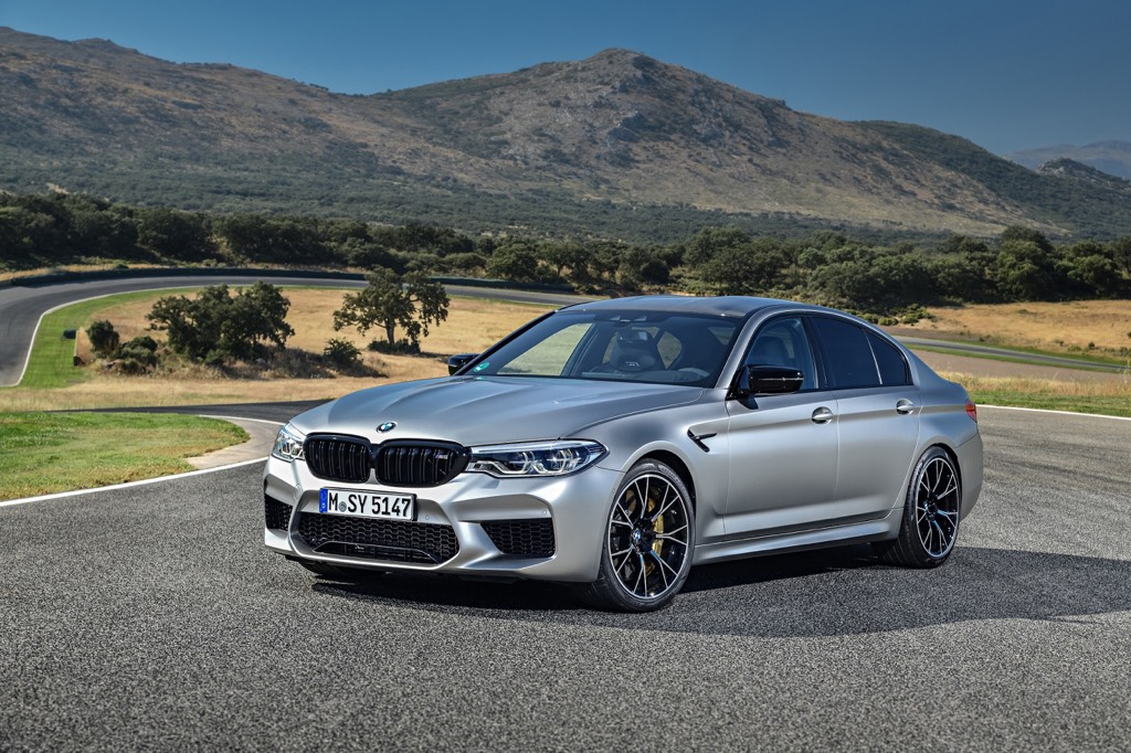 BMW M5 Competition Launch