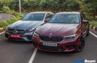 BMW M5 vs Mercedes-AMG E63 S