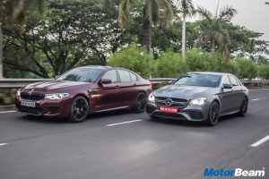 BMW M5 vs Mercedes-AMG E63 S-Comparison