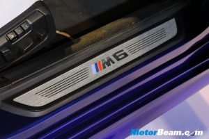 BMW M6 Gran Coupe Launch Doorsill