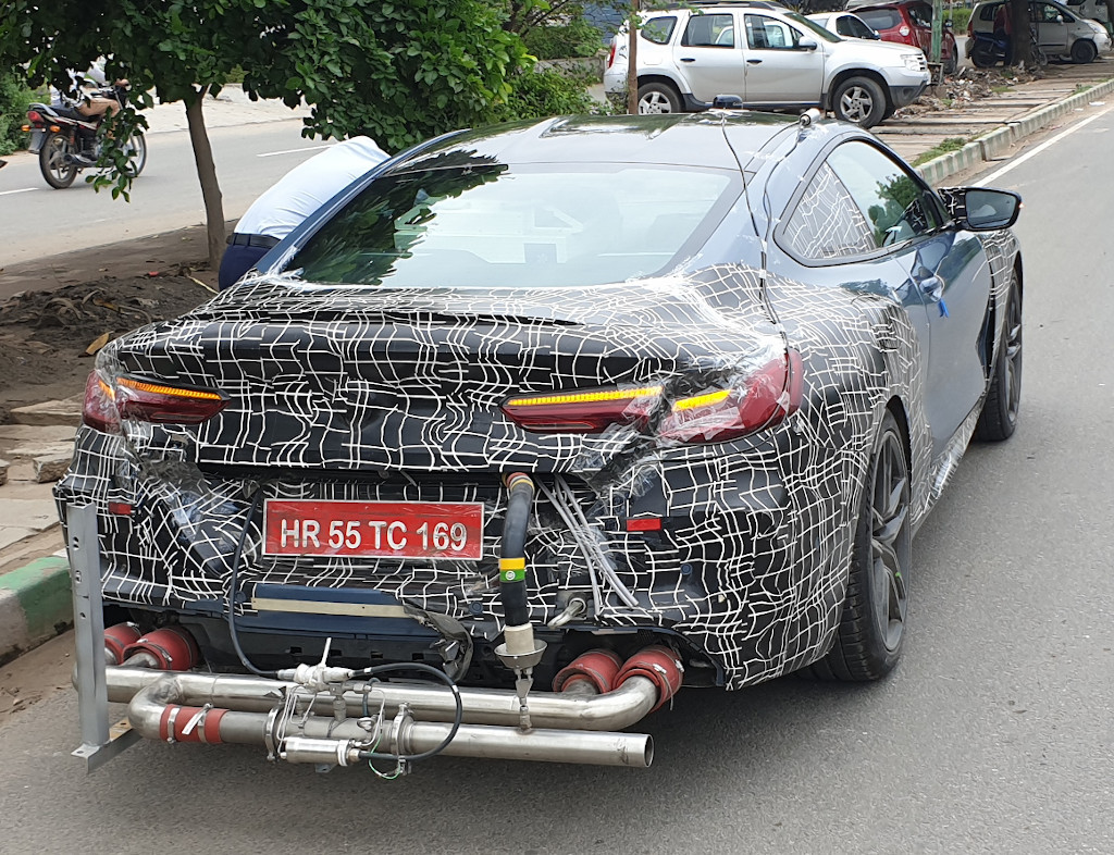 BMW M8 Coupe Spied