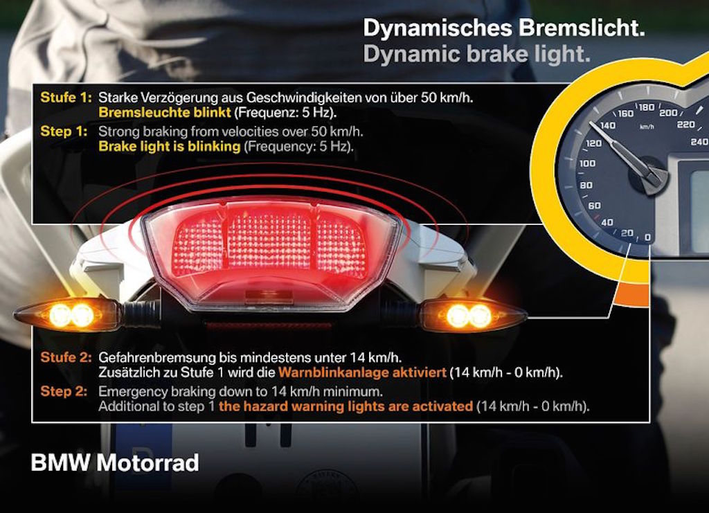 BMW Motorcycle Dynamic Brake Light