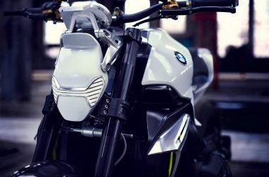 BMW Motorrad Concept Roadster LED Headlights