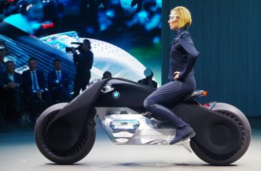 BMW Motorrad Vision Next 100 Concept Motorcycle Is A Bike From 2116
